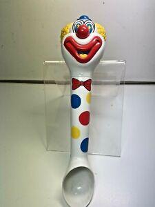 "Talking Plastic Clown Ice Cream Scoop - ""Happy Birthday"" - Fun Damental Too"