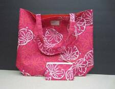 NEW 2 pc. Estee Lauder Lilly Pullitzer Set 2 Bags Tote Makeup Little Bag Pink!!