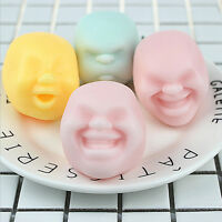 Stress Pressure Reliever Anti-stress Squeeze Face Balls Toys GifYN