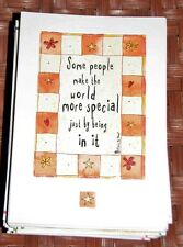 "Blue Mountain Arts Greeting Card ""Some People Make The World Special"" B2GO SALE"