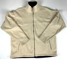 Timberland Fleece Jacket Men's Size L Outdoor Camping Winter  Brown Used #U