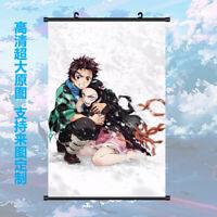Anime Demon Slayer: Kimetsu no Yaiba Scroll Home Poster Wall Decor 60*90cm