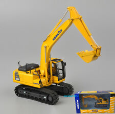 1/50 Komatsu PC200 Diecast Excavator Navvy Construction Vehicles Car Model Toy