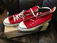 Red Converse High Tops M Size 8