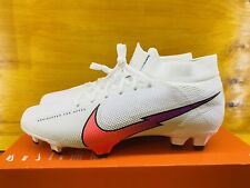 🔥New Nike Superfly 7 Pro FG White Flash Soccer Cleats (AT5382-163) Size 10