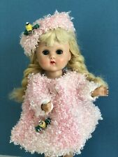 Ginny Doll dressed in her Pink Poodle Coat