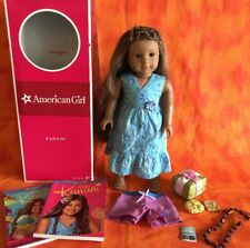 American Girl Kanani Doll of The Year 2011 GOTY Meet Box Book MORE Preowned