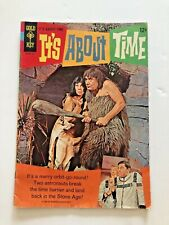 IT'S ABOUT TIME #1  CAST PHOTO COVERS  GOLD KEY  SILVER-AGE 1966