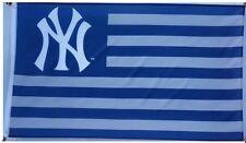 FREE SHIP TO USA New York NY Yankees NATION  MLB BASEBALL FLAG BANNER 3x5 FEET
