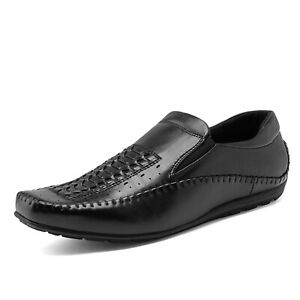 Bruno Marc Mens Penny Light Loafers Moccasins Driving Flats Slip On Casual Shoes