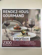 COFFRET SMARTBOX RENDEZ VOUS GOURMAND NEUF SOUS BLISTER