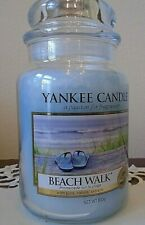 Yankee Candle   Beach Walk  1 Single   22 oz. Housewarmer  Free Shipping