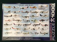 Light Aircraft 1000 Piece Jigsaw Puzzle -Eurographics Made in the USA