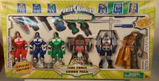 Power Rangers Time Force Time Force Combo Gift Pack Space Alien Frax Megazord