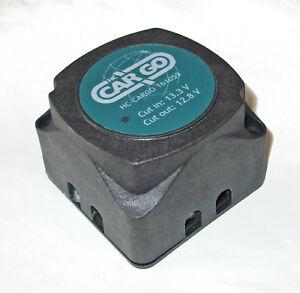 12v Dual 'Voltage Sensing' relay equiv Durite 0-727-33, 12v 140amp - VSR12140HCC