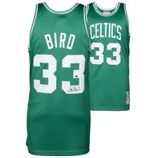 Larry Bird Boston Celtics Signed Autographed Authentic Mitchell & Ness Jersey