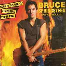 "BRUCE SPRINGSTEEN - I'm On Fire/Born In The USA (12"") (F-G/F+)"