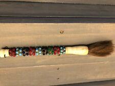 Multicolored stone calligraphy brush