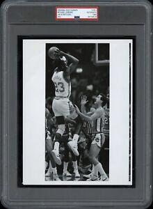 Michael Jordan 1984 ACC Tournament UNC vs Clemson Type 1 Original Photo PSA/DNA