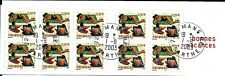 FRANCE 2003 HOLIDAYS SG 3907 CSB53 BOOKLET 50c X 10.USED.