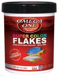 Omega One Super Color Flakes 1 oz