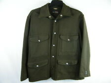 Men's Vintage Day's Brand Wool Whipcord Mackinaw Hunting Outdoor Jacket Coat