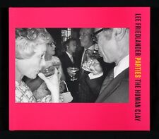 Lee Friedlander Parties: The Human Clay New & Signed Photography Book