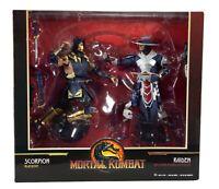McFarlane Toys Mortal Kombat 11 Scorpion & Raiden Action Figure 2-Pack IN STOCK
