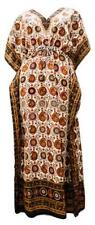 WHOLESALE - LONG ETHNIC KAFTAN ASSORTED COLOUR JOB LOT - PACK OF 20 - 4.50 EACH