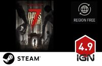 7 Days to Die [PC] Steam Download Key - FAST DELIVERY
