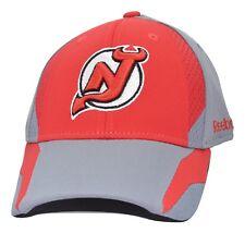 New Jersey Devils Reebok TT20Z NHL Practice Cap Stretch Fit Hockey Cap Hat L/XL