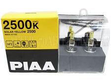 Piaa 2500K Solar Yellow H1 Halogen Headlight High Beam Bulbs (Made in Japan)