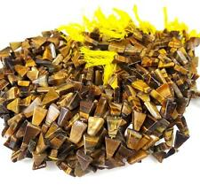 """8mm-13mm/13"""" Natural Tiger Eye Untreated Drilled Loose Beads Jewelry Making"""