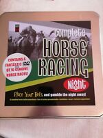 Complete Horse Racing Night. Contains a Fantastic DVD Video of 10 Genuine Horse