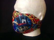 Biker Mask Ace Of Spades Neoprene Half face mask