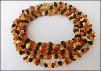 Lot of 10 Beautiful 100% Natural Baltic Amber Baby Necklaces 13inches
