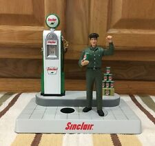 Sinclair Service Station Bank W/ Sound Decor Plastic Gas Pump Oil Bar Ford Chevy