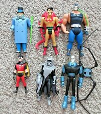 BATMAN THE ANIMATED SERIES ACTION FIGURE LOT BANE ROBIN PHANTASM TAS KENNER