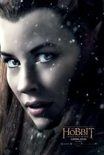 The Hobbit poster - Lord Of The Rings movie poster : Evangeline Lily poster