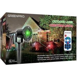 Greenpro Outdoor All Weather Waterproof  Laser Projector Christmas Lights