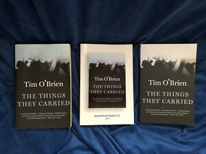 The Things They Carried by Tim O'Brien LOT of 3 Copies