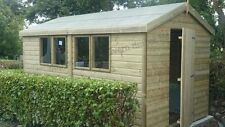 DISCOUNTED SHED 12x8 19mm t&g Tanalised