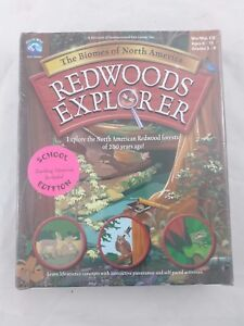 REDWOODS EXPLORER Biomes of North America Classroom SET Great Wave Software 26CD