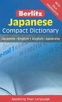 Berlitz Compact Dictionary Japanese new sameday trackable freepost Aust