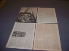 VINTAGE..1852 BIRKENHEAD TRAGEDY HISTORY ..HISTORY/DETAILS/PHOTOS..RARE! (171N)