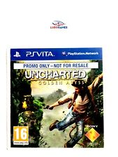 Uncharted Golden Abyss Promo PAL/EUR PS Vita Promo Nuevo Precintado Sealed New