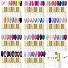 BORN PRETTY 8Stk. UV Gel Nail Polish Set Nail Art Nagellack Maniküre Tips Salon