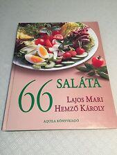 "Written in HUNGARIAN""66""Series Cookbook by Lajos Mari&Hemzo Karoly*SALATA/SALADS"