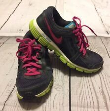 Nike Dual Fusion St 2 Running 456970-008 Girls Size 5 Youth
