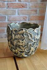 Designer Blumentopf Hand bemalt Topf Vase Übertopf Vase Blumentöpfe Vasen Neu